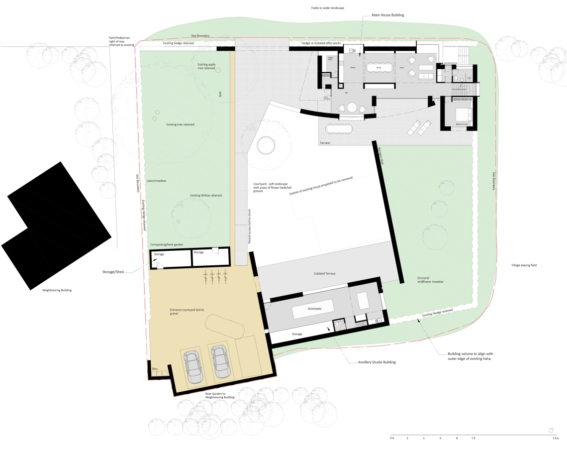 AL-02-01 Ground Floor Plan